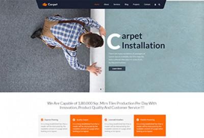 Carpet And Floor Installation WordPress Theme