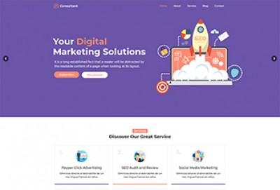 SEO Consultant Wordpress Theme |  SEO Agency Themes