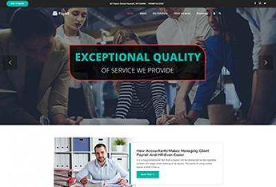 Payroll Services WordPress Theme