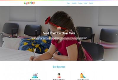 Play School HTML Website Template