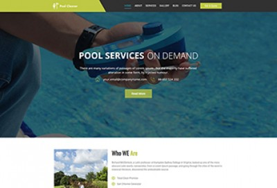 Pool Cleaners WordPress Theme