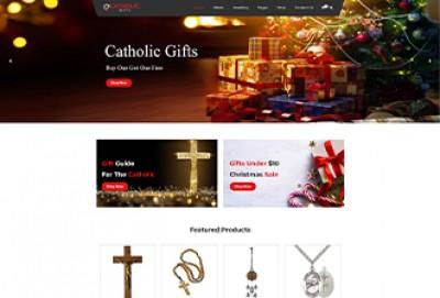 Catholic Gifts Wordpress Theme