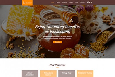 Beekeeping WordPress Theme