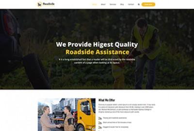 Roadside Assistance WordPress Theme