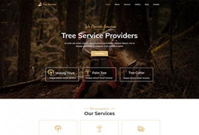 Tree Service WordPress Theme