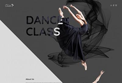 Dance Academy HTML Website Template