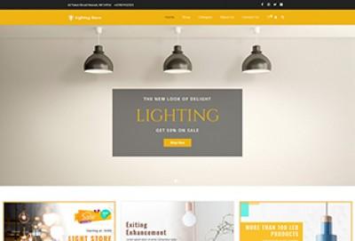 Lighting Store WordPress Theme