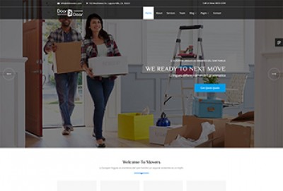 Door to Door - Movers and Packers HTML Website Template
