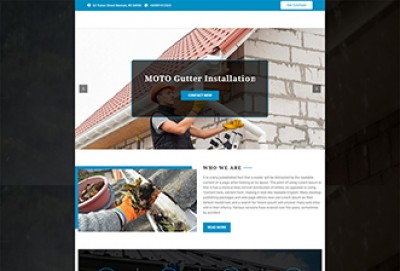 Gutter Cleaning Services WordPress Theme