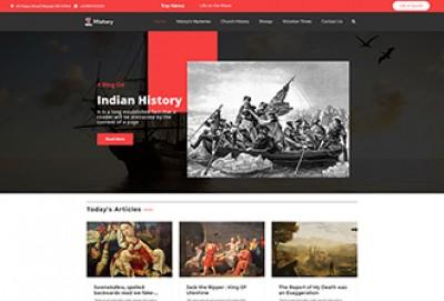 History WordPress Theme