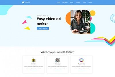 Video Ad Creator WordPress Theme