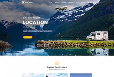 Tour and travel Booking WordPress Theme