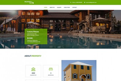 Real Estate Agency HTML Website Template