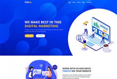 Digital Marketing HTML Website Template