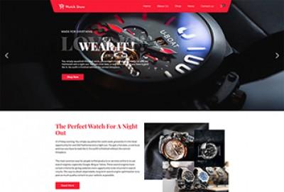 Watch Store WordPress Theme