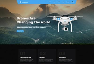 Drone Media WordPress Theme