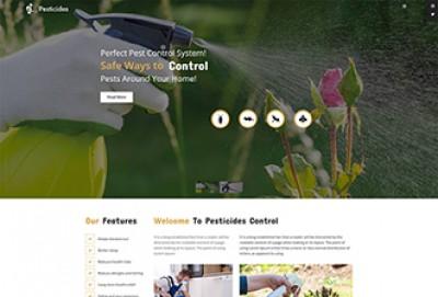 Pest Control WordPress Theme