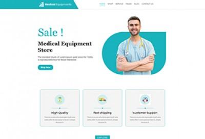 Medical Equipment eCommerce WordPress Theme