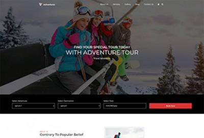 Adventures Trip And Tourism WordPress Theme