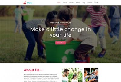 Charitable Trust WordPress theme
