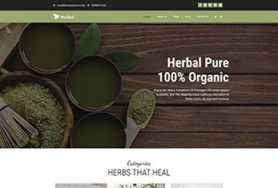 Herbal Pure WordPress Theme