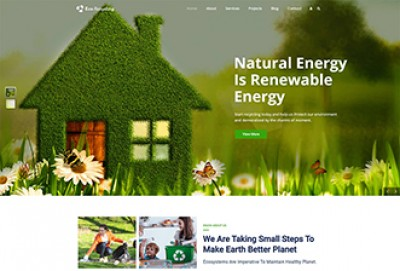 Eco Recycling And Waste Management WordPress Theme