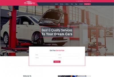 Car Repair Services HTML Website Template