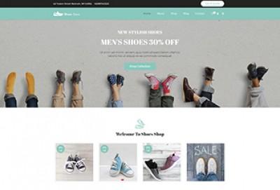 Shoes Store WordPress Theme