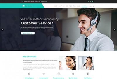 Call Center & Telemarketing WordPress Theme