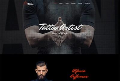Tattoo Artist Shop WordPress Theme
