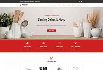 Kitchen Store WordPress Theme