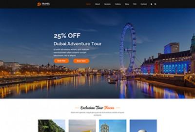 Travel Consultant WordPress Theme