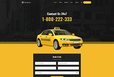 Taxi WordPress Theme | Cab and Car Rental Services WordPress Themes