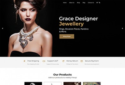 Costume Jewellery And Ornaments WordPress Theme