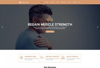 Mobile Massage WordPress Theme