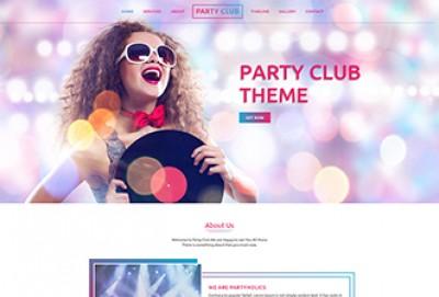 Best Night Club Website Template