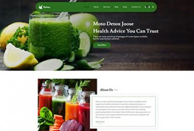 Detox WordPress Theme