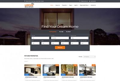 Real Estate HTML Website Template