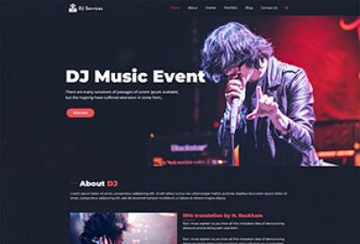 DJ Services WordPress Theme