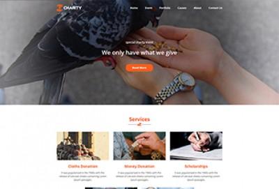 Charitable Trust HTML Website Template