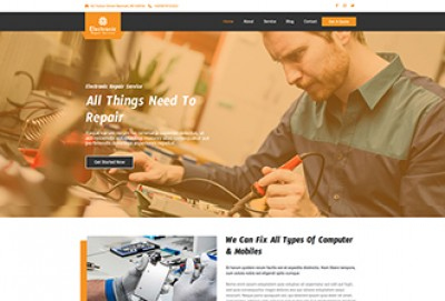 Electronic Repair WordPress Theme