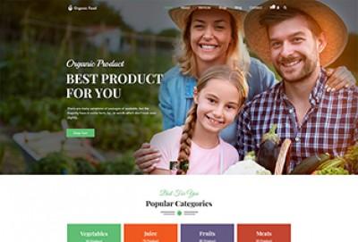 Cultivation - Organic Food Store WordPress Theme