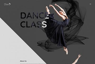 StepUp - Dance Academy Single Page HTML Website Template