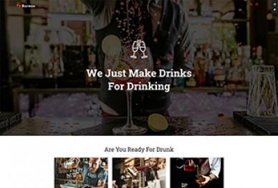 Cocktail Bar WordPress Theme | Barman WP Themes
