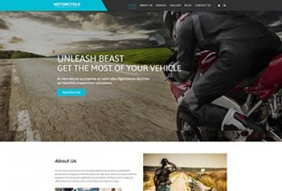 Motorcycle Workshop WordPress Theme