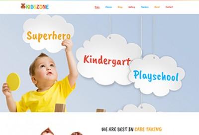 Kindergarten HTML Website Template