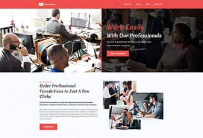 Translation Agency WordPress Theme