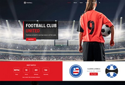 Football NFL Club WordPress Theme