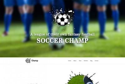 Football Club HTML Website Template