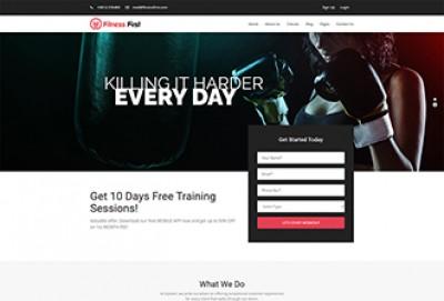 Best Gym WordPress Theme